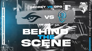 Team Secret vs OverPower Esports - Behind the Scenes // VCS SUMMER WEEK 2 | League of Legends