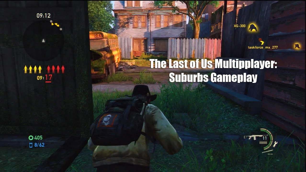 The Last Of Us NEW DLC GAMEPLAY SUBURBS Abandoned Territories - Last of us map pack