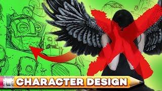 D̶y̶i̶n̶g̶ ̶A̶n̶g̶e̶l ROBOT DOCTOR Character Design Session!