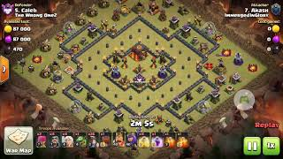 COC-POPULAR RING BASE WITH ISOLATED CORE INFERNOS - 3 STARRED ⭐⭐⭐ #COC #RINGBASE