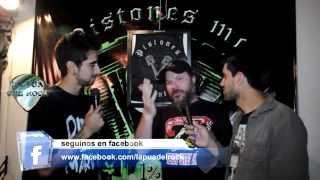 CHIZZO DE LA RENGA EN LA PUA DEL ROCK TV - 13/12/2014