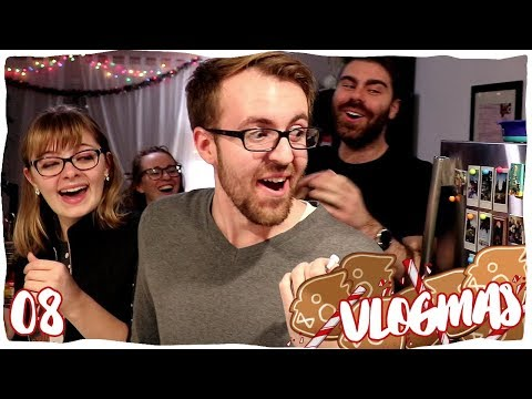 The Most HORRIFYING Christmas Cookies!   VLOGMAS 08