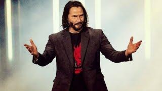 Киану Ривз на презентации Киберпанк 2077 — Русский ролик [Субтитры] (E3 2019)