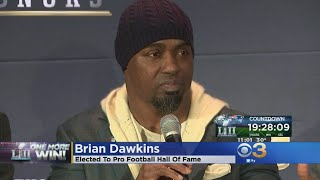 Brian Dawkins Reacts To Hall Of Fame Induction