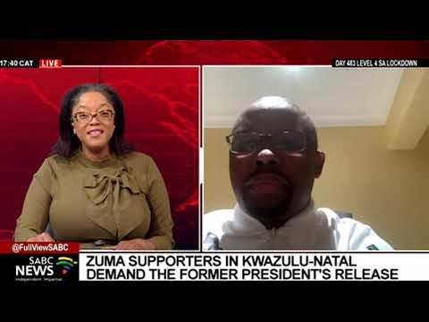 ANC KwaZulu-Natal's Kwazi Mshengu on calls for immediate release of Zuma