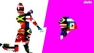 THE BEST COMBINATIONS FOR ALL COUNTRIES OF FORTNITE FOOTBALLER SKINS