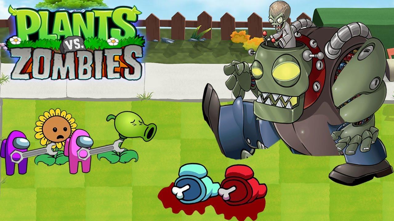 Plants Vs Zombies GW Animation Episode 70 : Among Us vs Dr.Zomboss