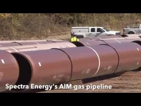 Spectra's Fracked Gas Pipeline Construction