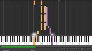 Synthesia Piano 林宥嘉-傻子 鋼琴版