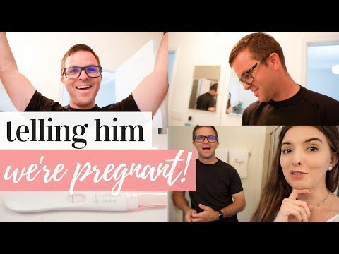 TELLING MY HUSBAND I'M PREGNANT!!!! | TAKING A PREGNANCY TEST TOGETHER | BABY #2