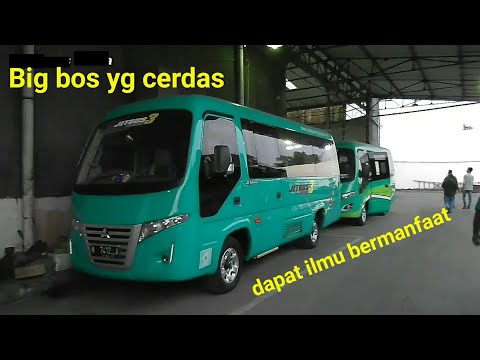 Ambil unit Jb3 Karoseri Adiputro (Trip Report Malang-Crbn√Alfarruq Mr Gaplex bareng Owner Po.Mp)