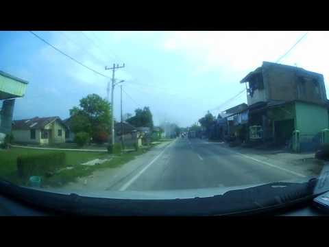 Kota Tebing Tinggi ke Jl. Sibulan