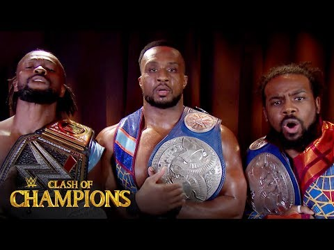 The New Day reunite on WWE Clash of Champions Kickoff show: Clash of Champions 2019 (WWE Network)