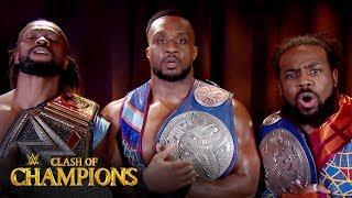he New Day reunite on WWE Clash of Champions Kickoff show: Clash of Champions 2019 (WWE Network)