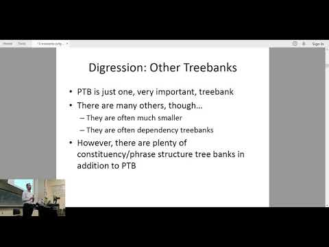 11-411/611 NLP (2020/03/03) - Lecture 15 - Treebanks and PCFGs