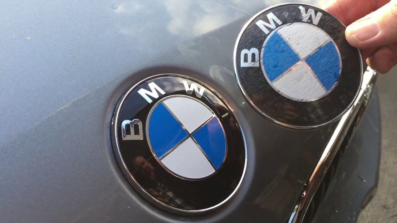 Quickest Easiest Bmw Badge Swap No Tools Bonnet Hood