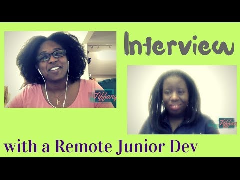 Interview with a Junior Remote Developer
