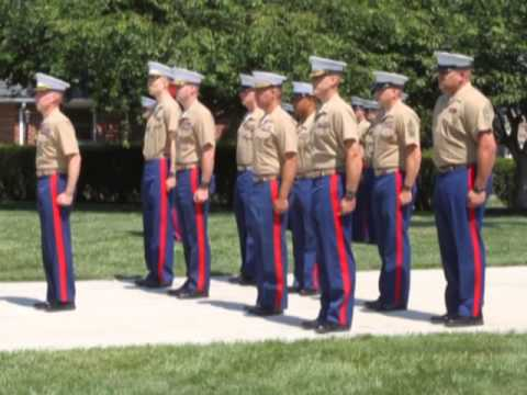 4th Marine Corps District Change of Command 2014