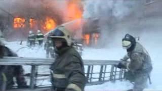 В Барнауле горит радиозавод