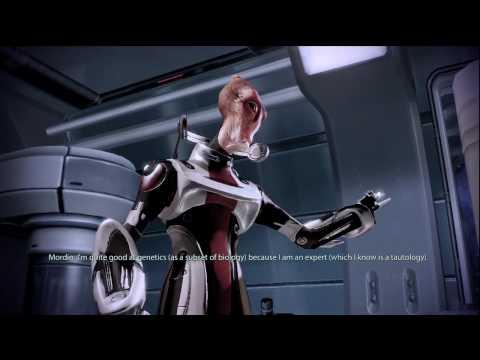 Mass Effect 2 - Mordin performing Gilbert and Sullivan