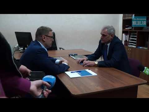 Рабочий визит Алексея Текслера в Усть Катав