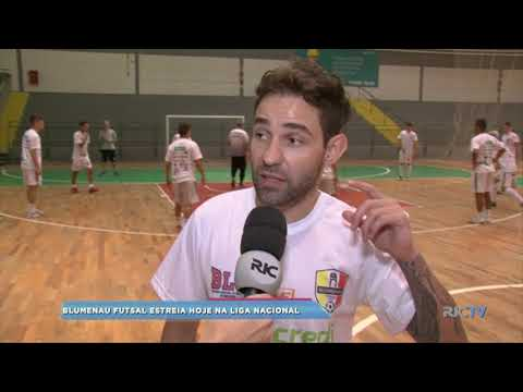 Blumenau Futsal estreia hoje na Liga Nacional