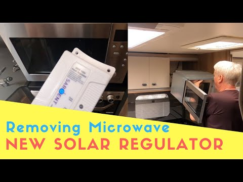 How To Remove A Microwave To Change A Solar Panel Regulator