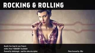 Rocking and Rolling - Royalty Free Music for licensing - Upbeat / Indie Rock / Pop