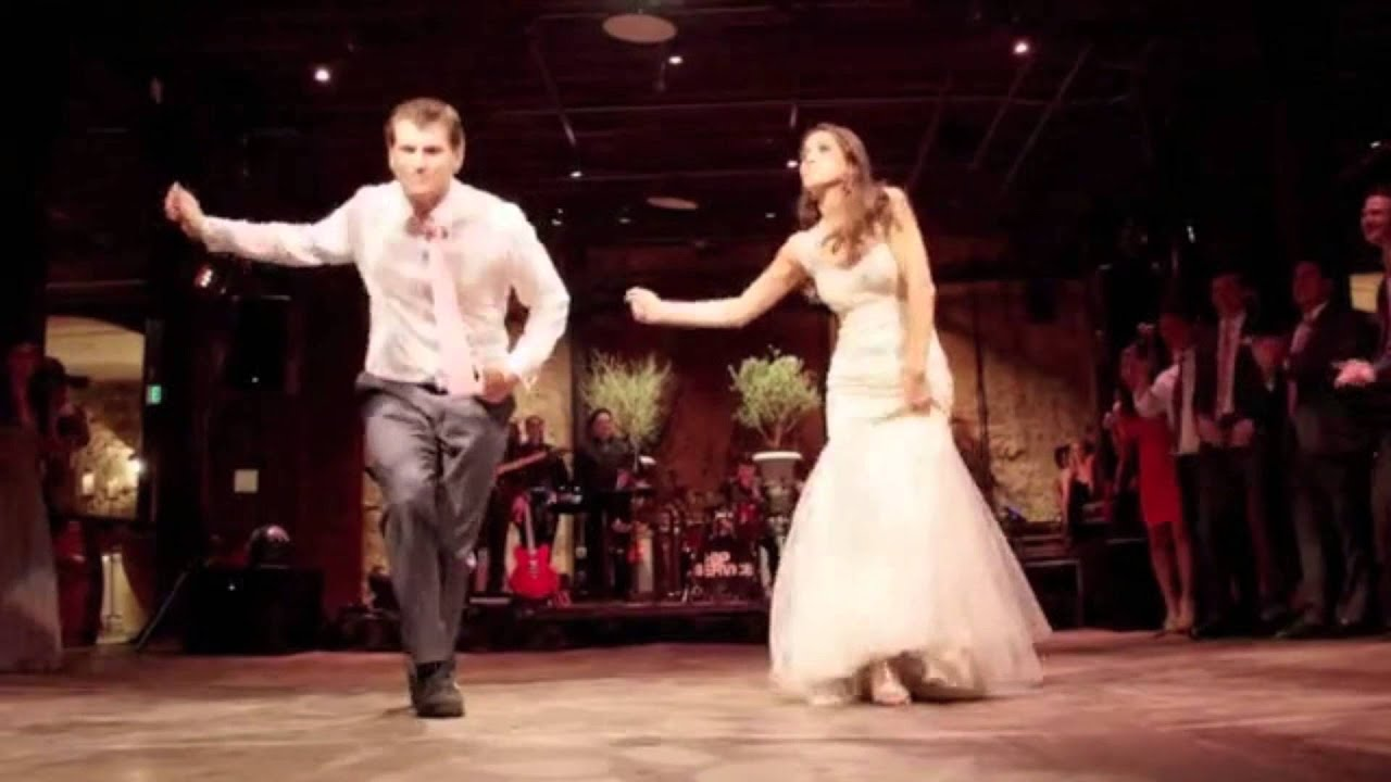 BEST WEDDING DANCE!!! Shamus and Sasha surprise wedding dance #1