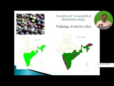08  GIS Applications for Medicinal Plants Conservation