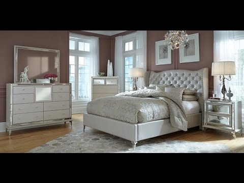 Hollywood Loft Bedroom Collection by AICO Furniture - YouTube