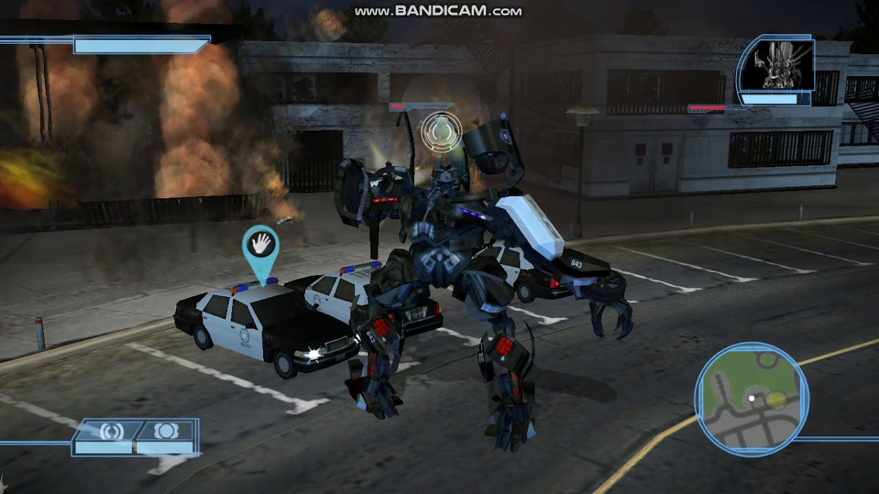 Transformers The Game Decepticons Walkthrough Part 2 The hunt for Sam Witwicty