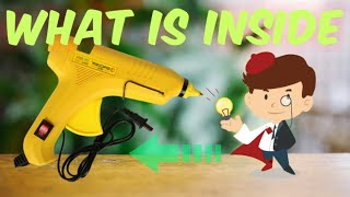 what is inside a glue gun / useful things / do it yourself