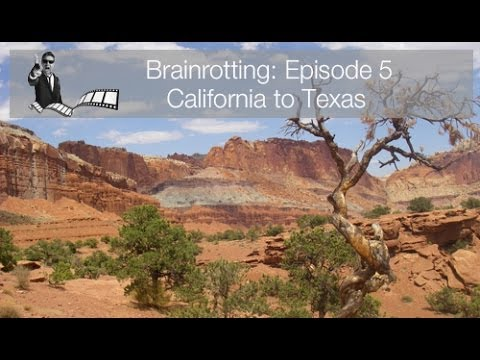Brainrotting: Episode 5 - California to Texas,  BMW GS F650 adventure motorcycling travel bike tour