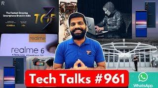 Tech Talks #961 - Realme 6 Launch, PUBG Season 10, Whatsapp Pay, 16 inch Macbook, Mi Note 10