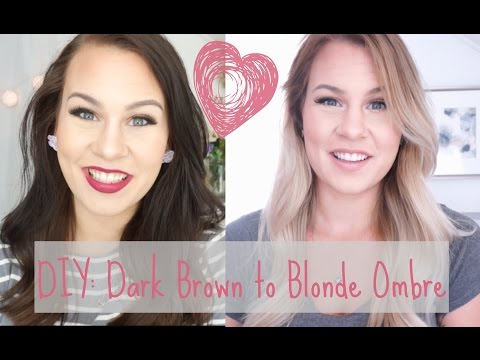 diy:-dark-brown-to-blonde-ombre/balayage-at-home