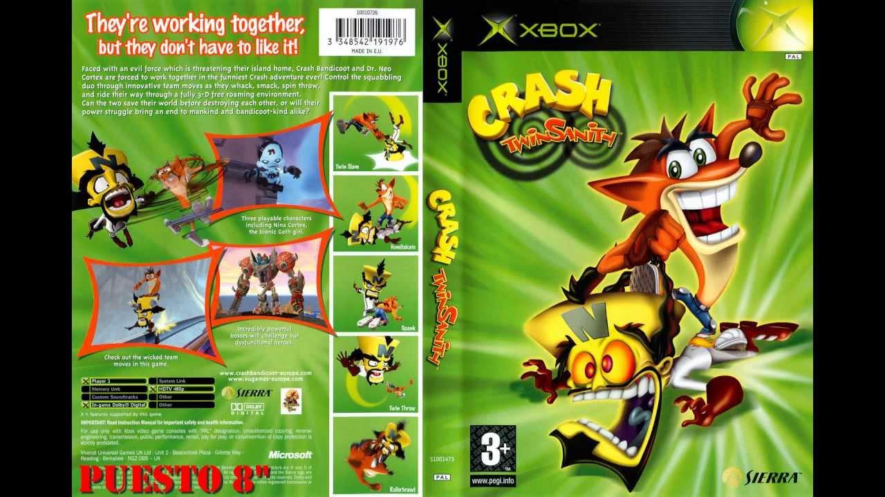 Top 10 De Los Mejores Juegos De La Consola Xbox Normal Parte 1