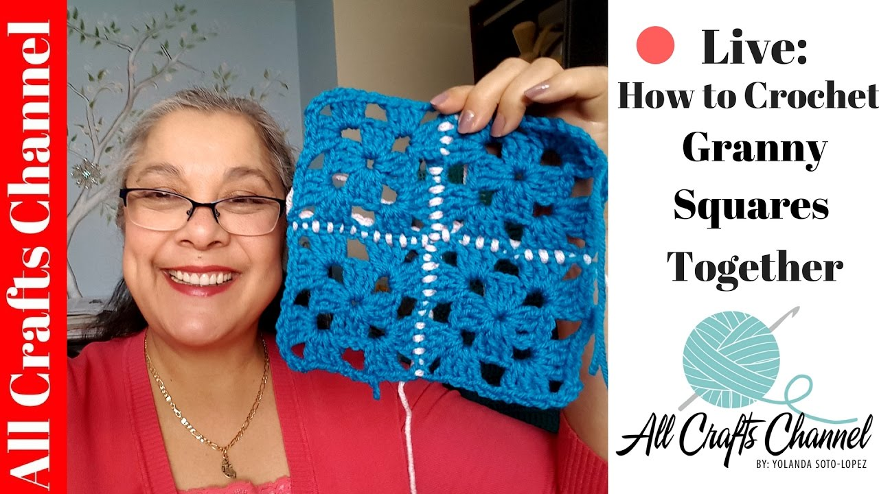 how to put granny squares together