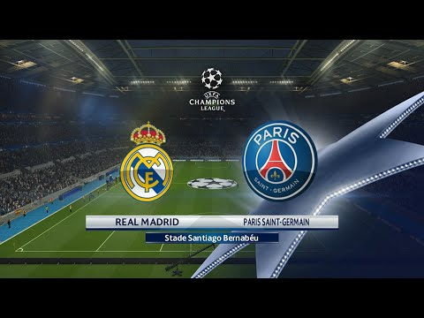 Real Madrid - Paris SG [PES 2016] | Ligue des Champions 2015