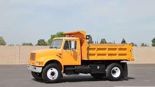 1992 International 4900 5 Yard Dump Truck for sale