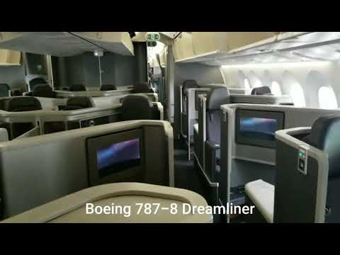 American Airlines Cabin Tour Boeing 787-8 Dreamliner