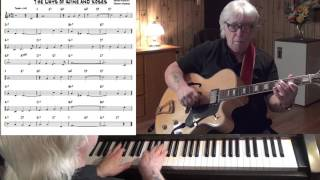 The Days Of Wine And Roses - Jazz guitar & piano cover ( Henry Mancini & Johnny Mercer )