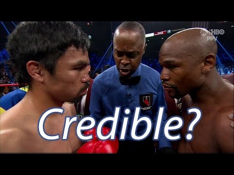 Did Mayweather Cheat Against Pacquiao?