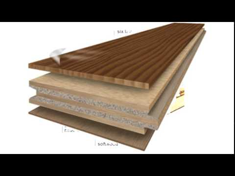 what is engineered hardwood