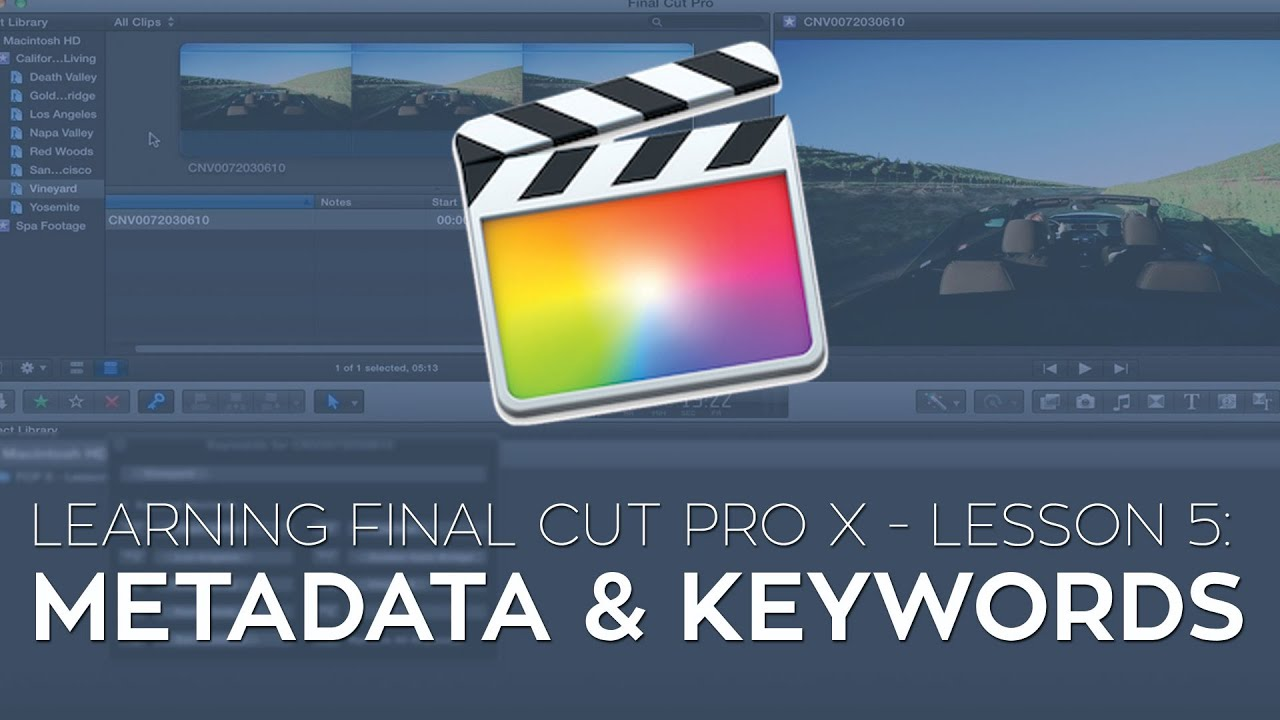 Marking Long Interviews in FCPX
