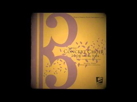 Singet dem Herrn, SWV 35 | Heinrich Schütz [NDSU Concert Choir]