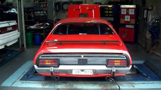 XB Coupe on Dyno