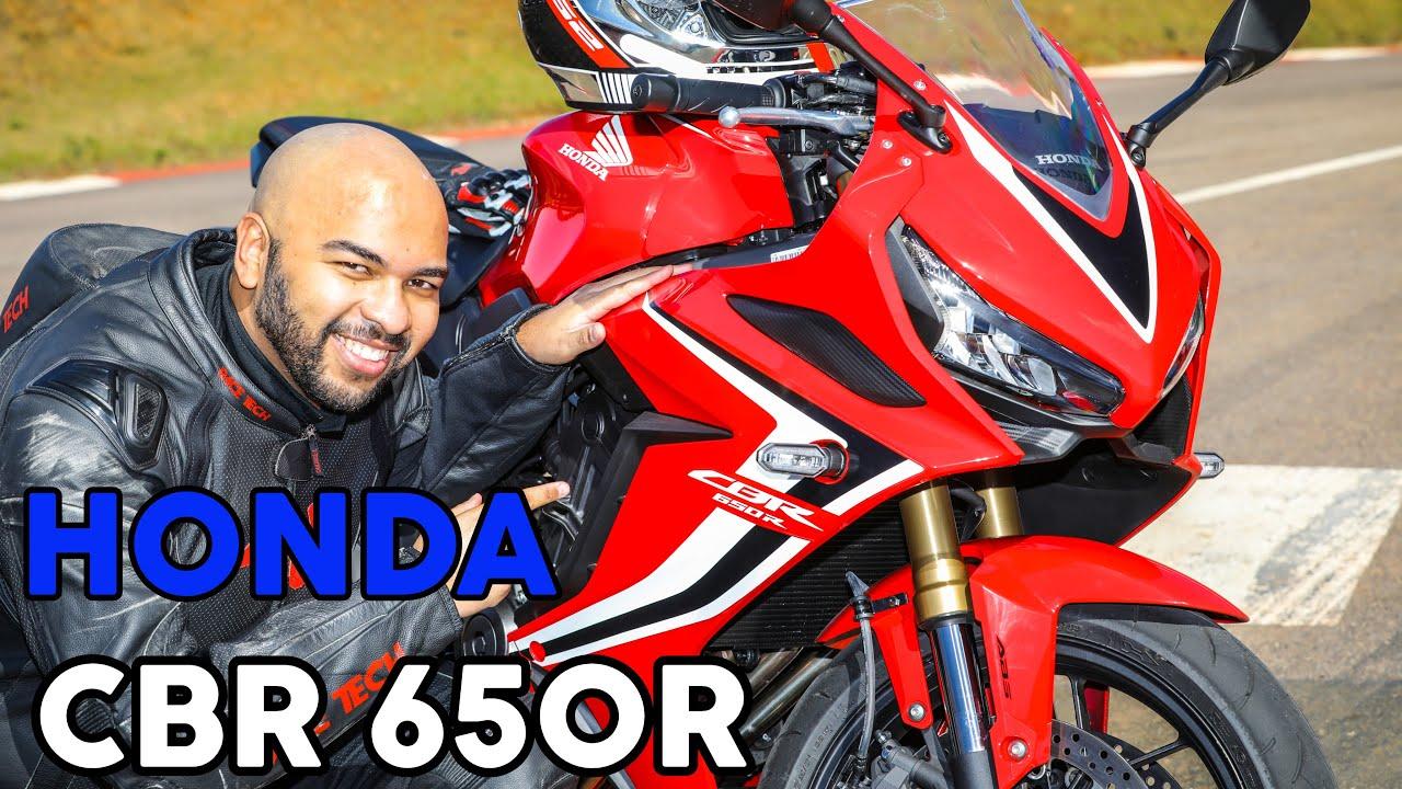 Tudo sobre a nova Honda CBR 650R