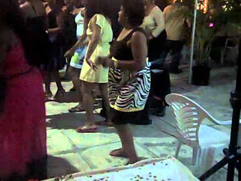 Cherie 60th Electric Slide in the Bahamas