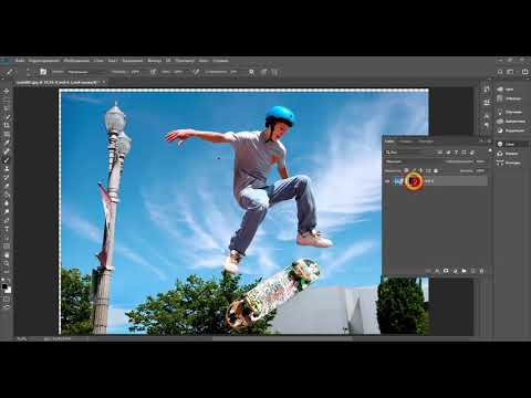 Как сделать 3D картинку из 2D для Facebook в Adobe Photoshop   Уроки Photoshop CC 2019
